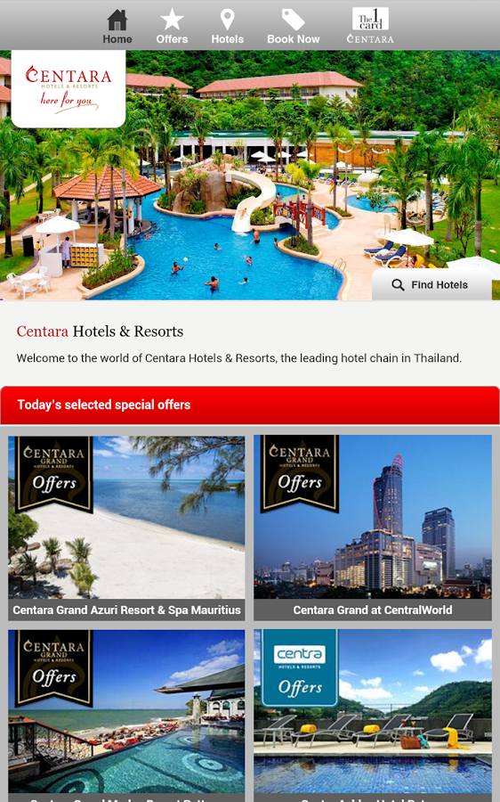 Centara Hotels & Resorts- screenshot