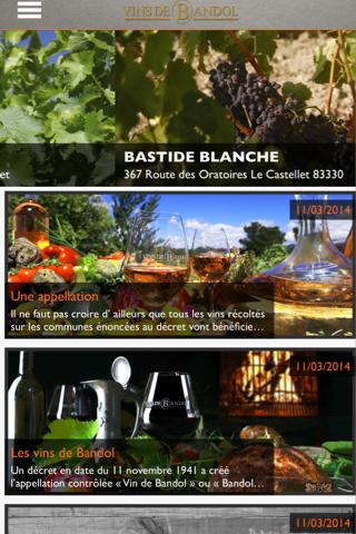 Appellation des vins de Bandol