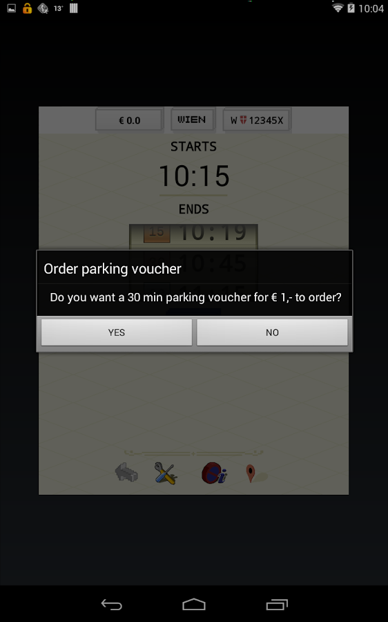 paperless.Parking - Wien - screenshot