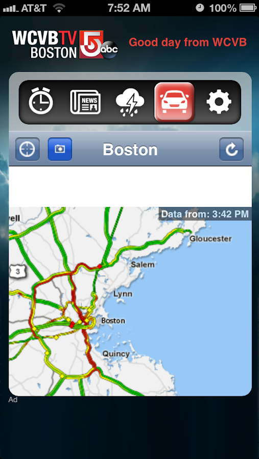 Alarm Clock WCVB Ch 5 Boston - screenshot