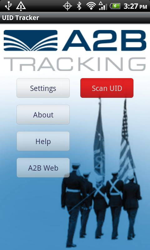 A2B UID Tracker - screenshot