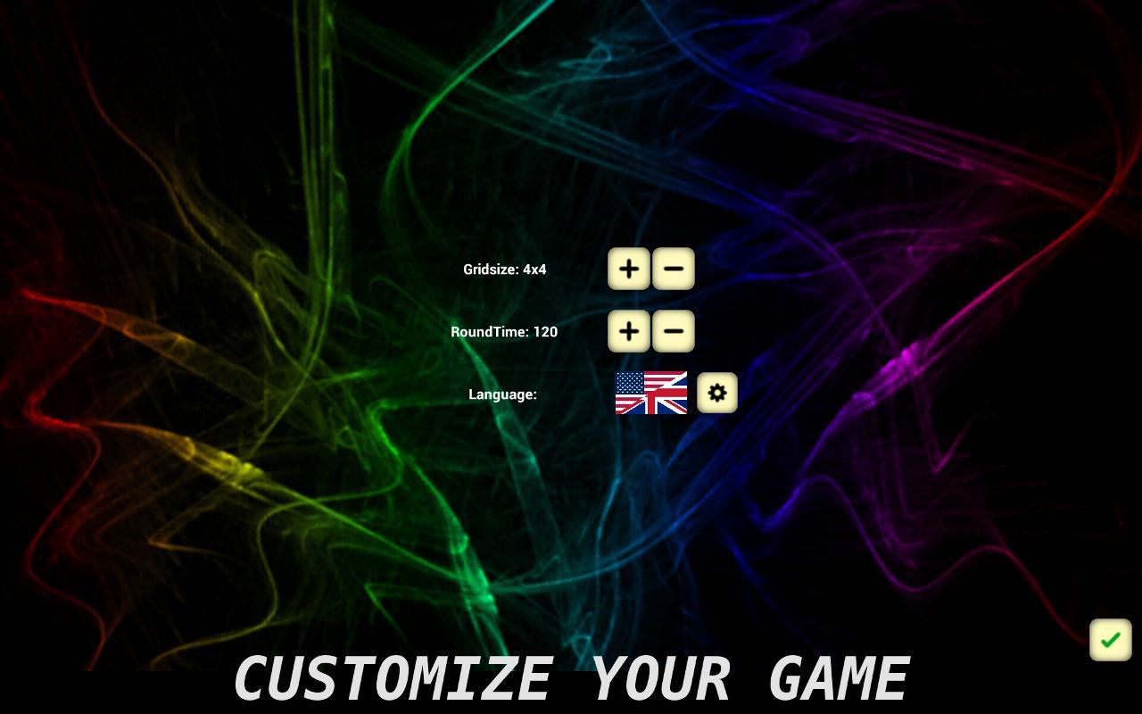 Word Shuffle - screenshot