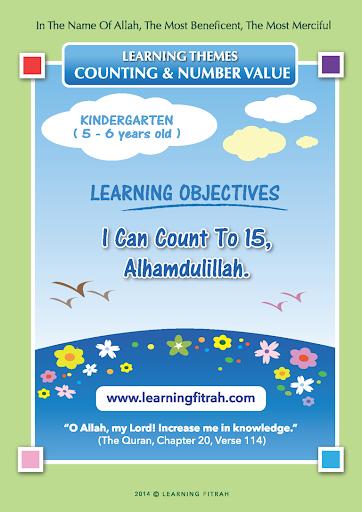 Kindergarten 3 - Count to 15