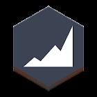 花瓣数据图 icon