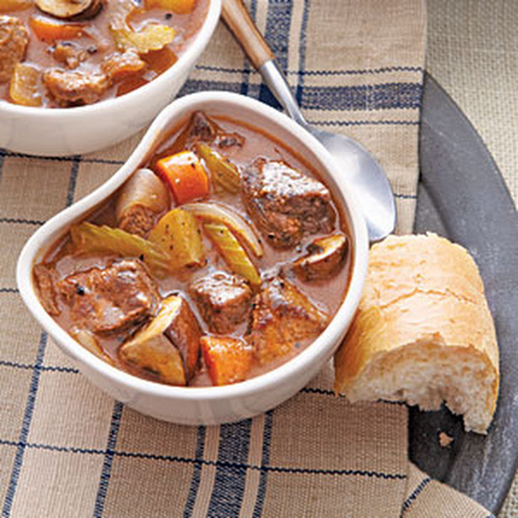 Beef and Mushroom Stew Recipe