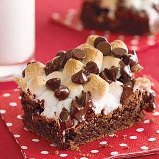 Fudgy Marshmallow-Topped Brownies