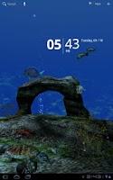 Screenshot of Ocean Aquarium 3D Wallpaper