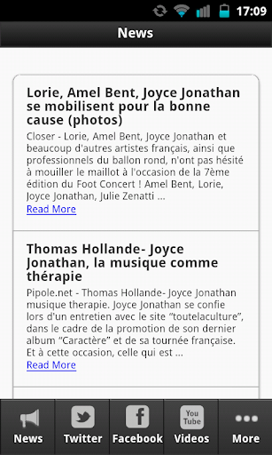 【免費音樂App】Joyce Jonathan - fan-APP點子