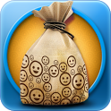 Laugh bag icon