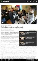 Screenshot of Star Tribune News