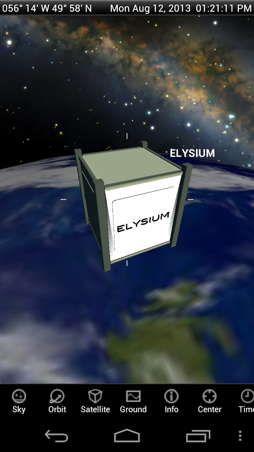 Elysium Space- screenshot