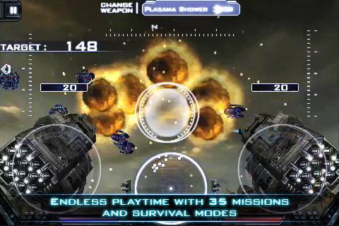 حرب المجرات والاسلحة الثقيلة heavy gunner 3d 1.0.8