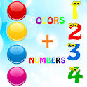Learn colors numbers ad free icon