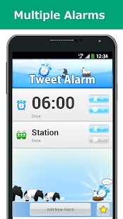Tweet Alarm (Free Alarm Clock)- screenshot thumbnail