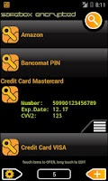 Screenshot of SafeBox password manager free