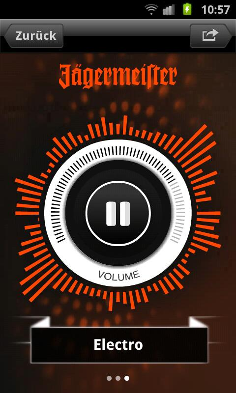 Jägermeister Radio - screenshot