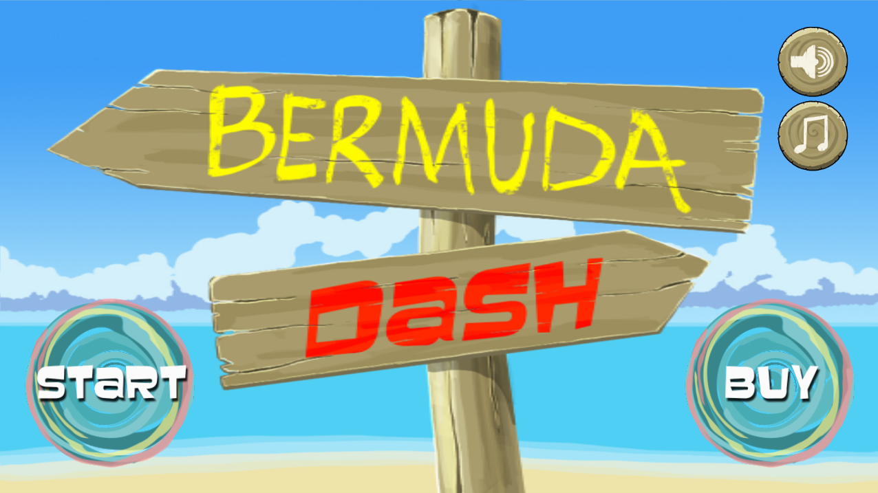 Bermuda Dash - screenshot