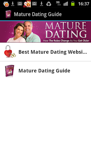 Mature Dating Guide