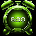 Digital clock & alarm icon