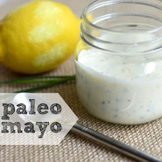 Lemony Chive Paleo Mayo