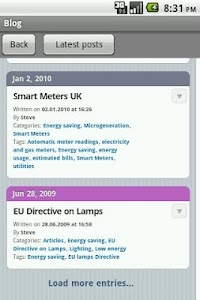 Electrician's Blog screenshot 3
