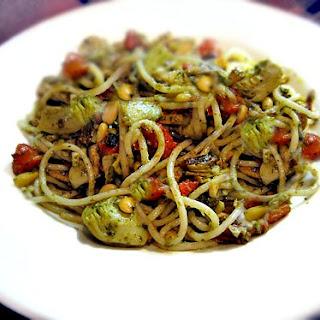 Karina's Gluten-Free Mediterranean Tuna and Artichoke Pasta
