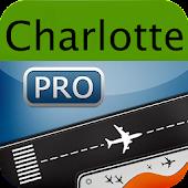 Charlotte Airport+Flight Track