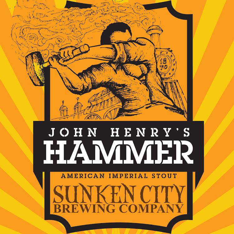 Logo of Sunken City John Henry's Hammer