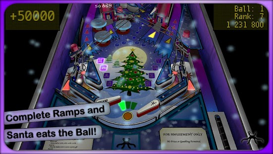 Xmas Pinball- screenshot thumbnail