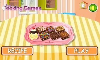 Screenshot of Cooking Game Brownie
