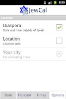 Screenshot of JewCal