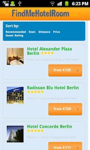 Find Hotel Rooms, Hotel deals - screenshot thumbnail