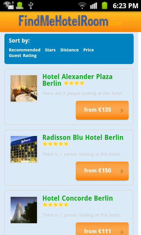 Find Hotel Rooms, Hotel deals - screenshot
