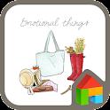 Emotional things dodol theme icon