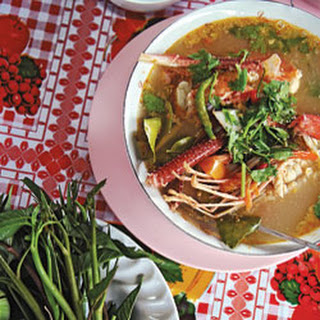 Tom Yum Goong (Sweet and Sour Prawn Soup) Recipe