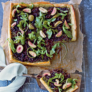 Onion-and-Olive Tart.