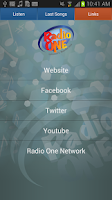 Screenshot of Radio One Lebanon