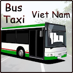 Bus and Taxi in Vietnam