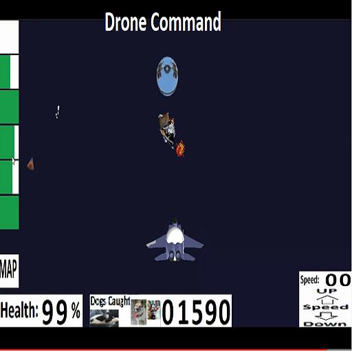 Drone Command LOGO-APP點子