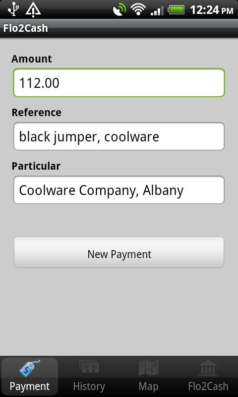 Flo2Cash Payment Terminal - screenshot