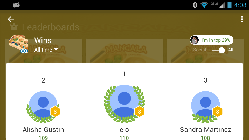Mancala- screenshot