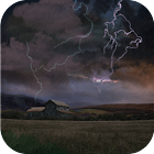 Farm in Thunderstorm Wallpaper icon