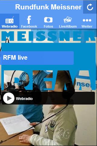 Rundfunk Meißner RadioPlayer