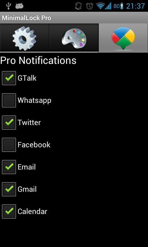 MinimalLock Pro - screenshot