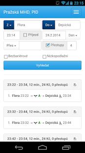 Praha - DPP - pražská MHD- screenshot thumbnail