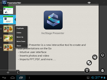 IncStage Presenter (Full)- screenshot thumbnail