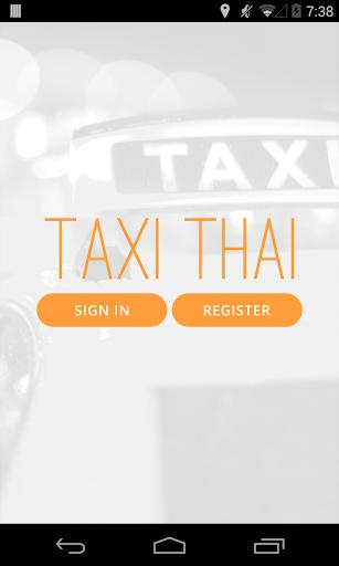 Taxi Thai Driver
