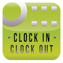 CLOCK IN CLOCK OUT icon