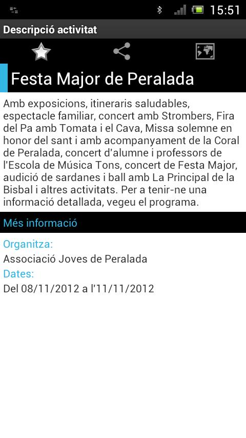 AgendaCAT- screenshot