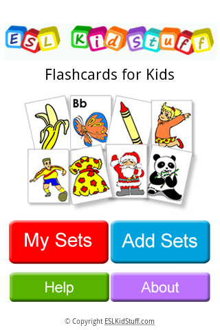 Flashcards for Kids- screenshot